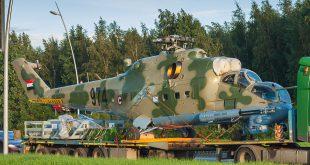 Для ВВС Судана поставили очередную партию вертолётов Ми-24П