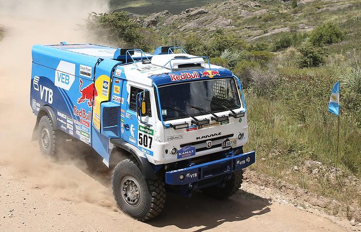 Экипаж команды «КАМАЗ-мастер» выиграл ралли «Шёлковый путь» в зачете грузовиков
