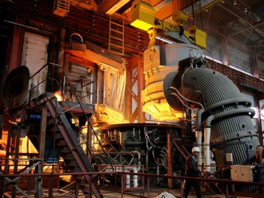 Новый электросталеплавильный цех открыли на Ставрополье
