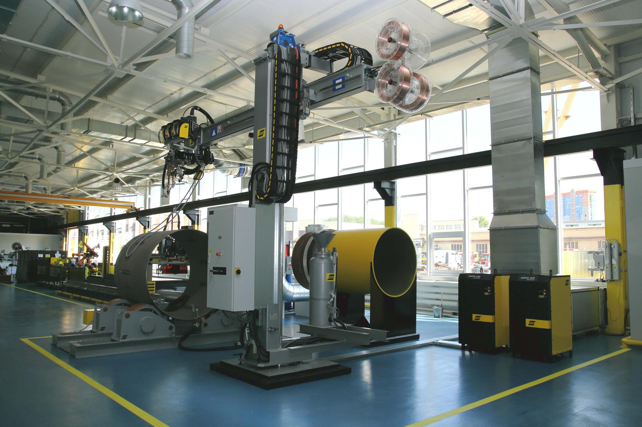 Компания ЭСАБ открыла в Подмосковье Технологический центр