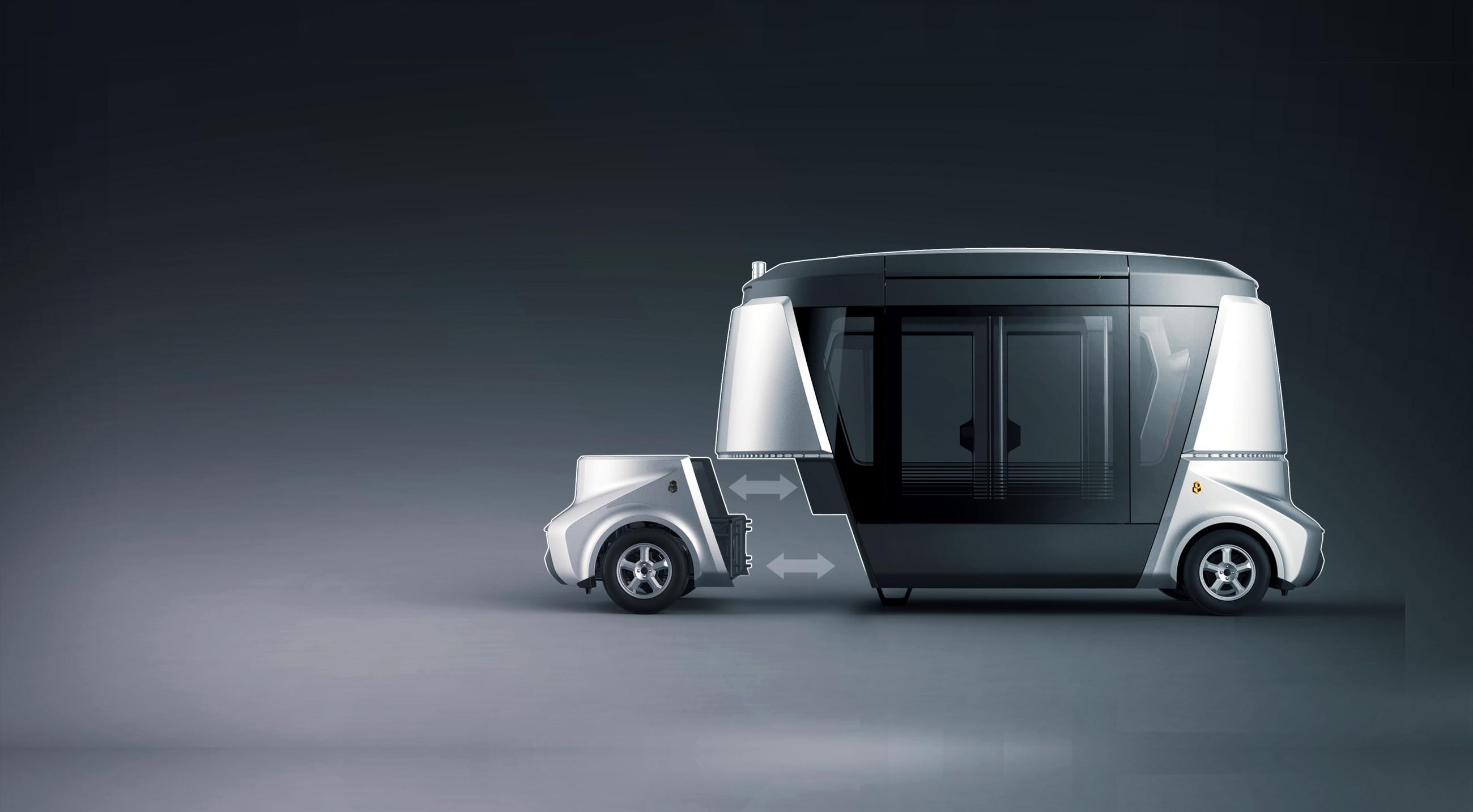 Компания Volgabus разработала концепт будущего семейства коммерческого беспилотного транспорта