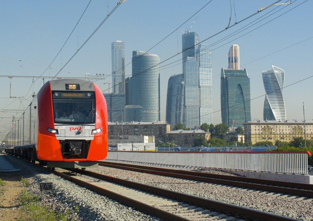 Малом кольце Московской железной дороги запущено движение поездов «Ласточка» в тестовом режиме