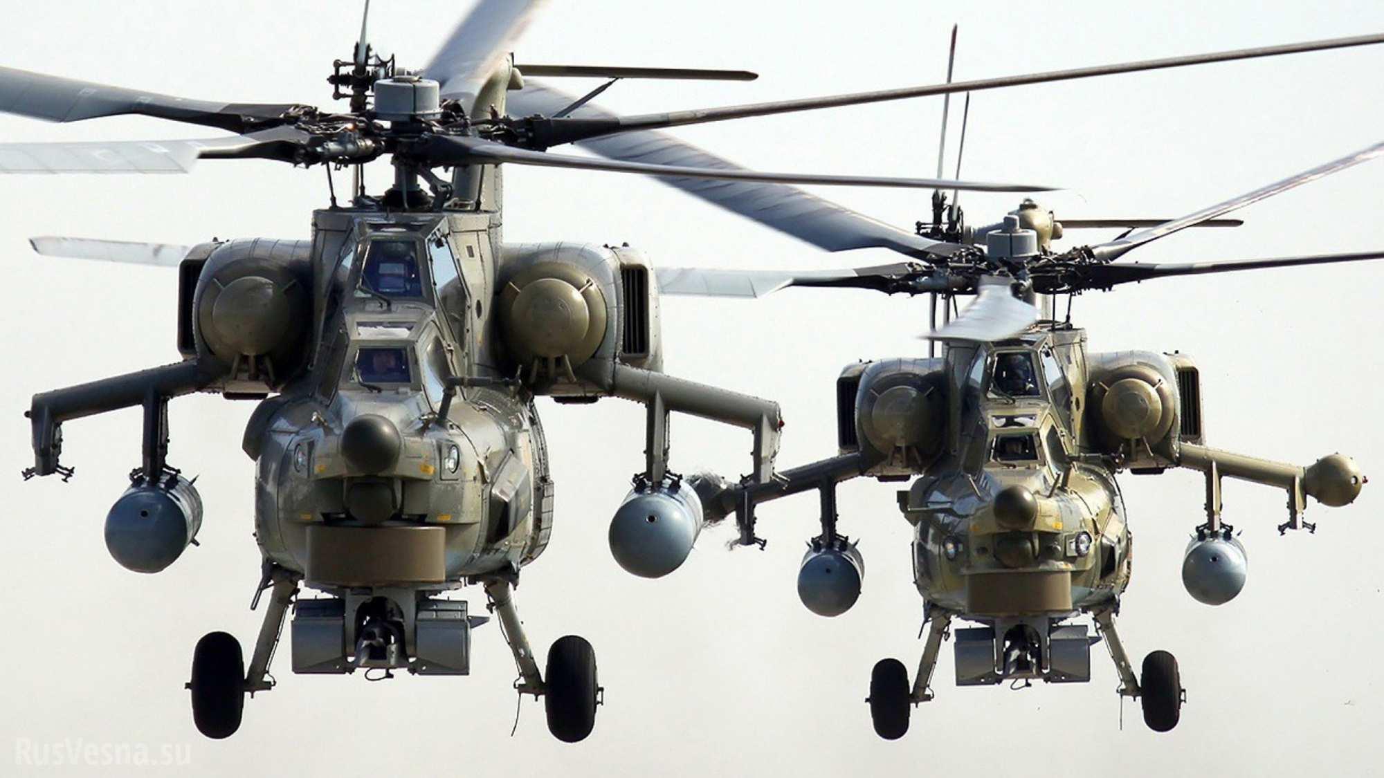 Иракские вооруженные силы получили очередную партию российских вертолетов Ми-28 «Ночной охотник»