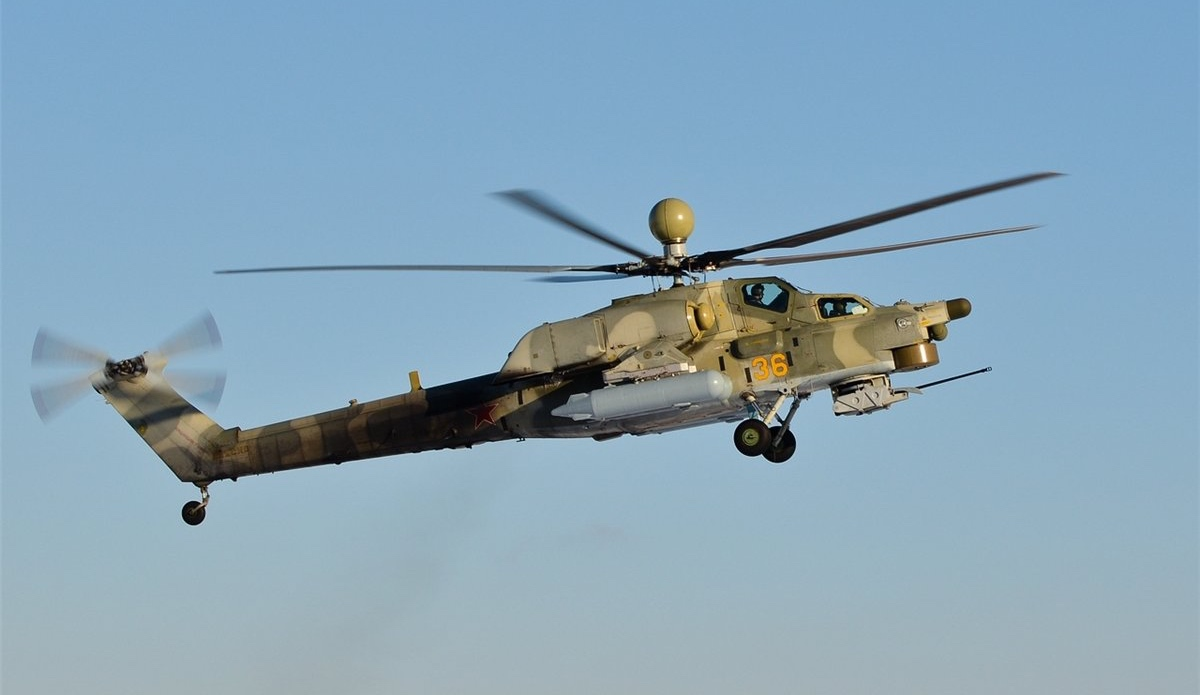 В российскую армию начнет поступать улучшенная модификация вертолета Ми-28НМ «Ночной охотник»