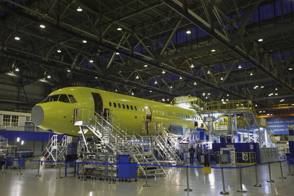 На Иркутском авиационном заводе завершается сборка фюзеляжа второго самолета МС-21