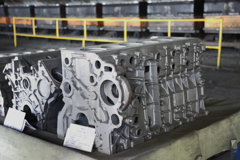 На литейном заводе «КАМАЗа» отлиты новые опытные образцы блоков цилиндров