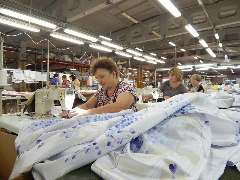 Новое производство домашнего текстиля запущенно в Иваново