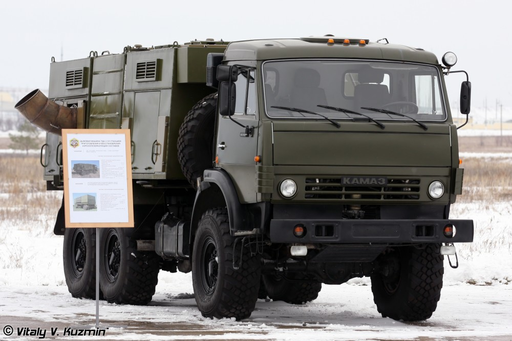 Новые дымовые машины ТДА-3 получат войска химзащиты