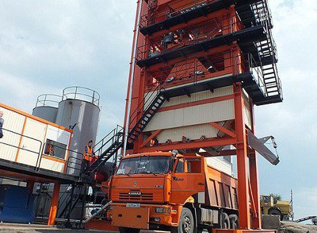 Новый асфальтовый завод открыли в Омской области
