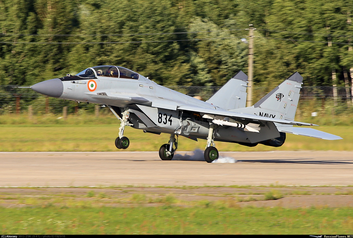 Очередной новый МиГ-29К собран для ВМС Индии