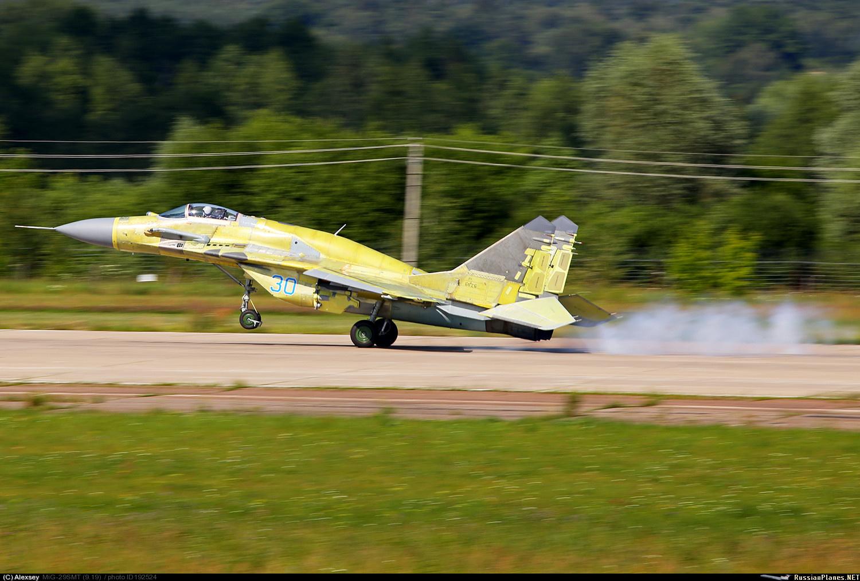 Очередной новый МиГ-29СМТ испытывают для ВКС России