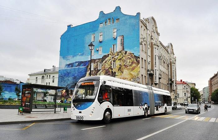 Первый электробус с дизель-генератором, вышел на маршрут в Москве