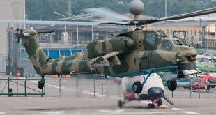 Первый полет совершил вертолет Ми-28НМ новой модификации