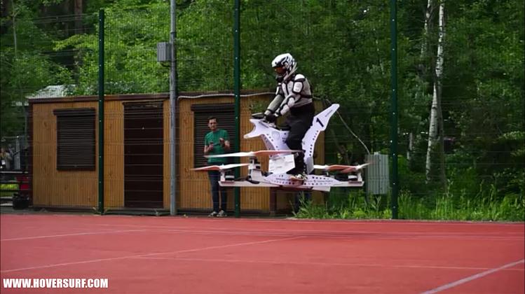 Первый российский дрон для перевозки людей проходит тестирование в Москве
