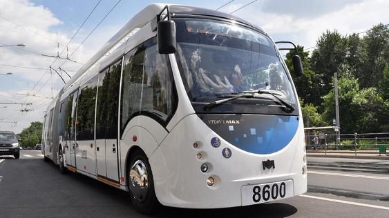 Первый троллейбус с дизель-генератором, вышел на маршрут в Москве