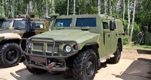 Показана новая версия бронеавтомобиля «Тигр-6А» с шестым классом защиты