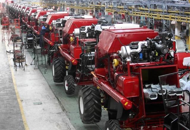 Производство сельскохозяйственной техники выросло на 35% за 2016 год
