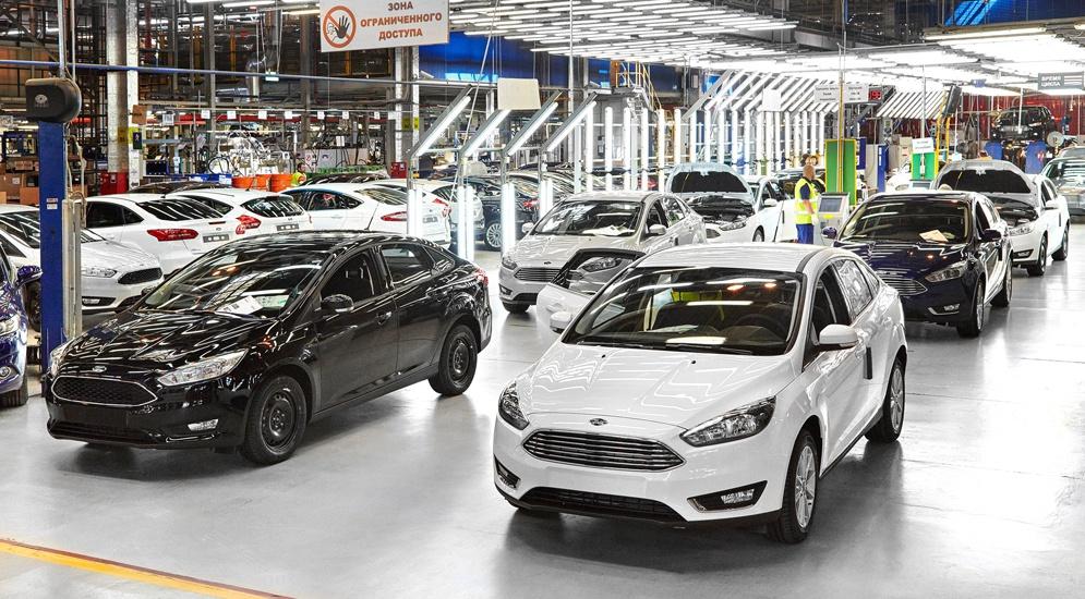 Российский завод Ford Sollers начал поставки автомобилей в Армению