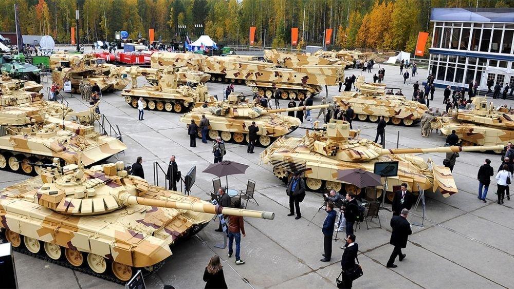 Nga vươn lên vị trí thứ hai thế giới về sản xuất vũ khí