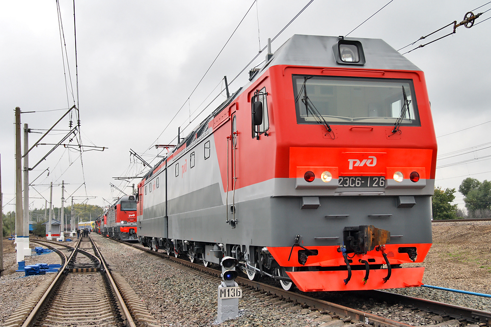 С конвейера завода «Уральские локомотивы» сошел 600-тый грузовой электровоз «Синара»