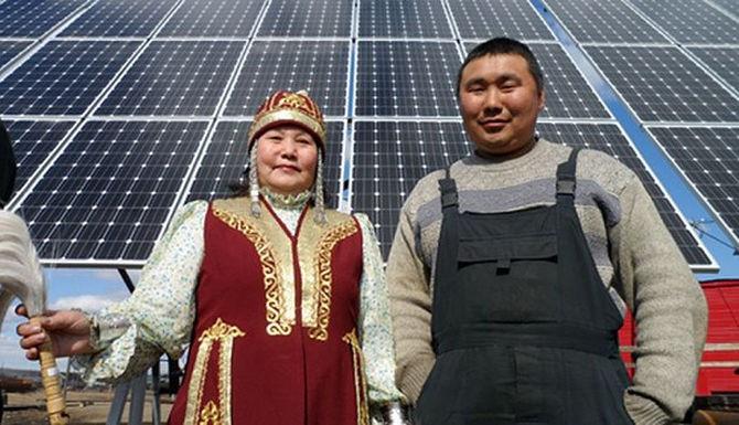 Солнечная электростанция в Якутии официально признана самой северной в мире