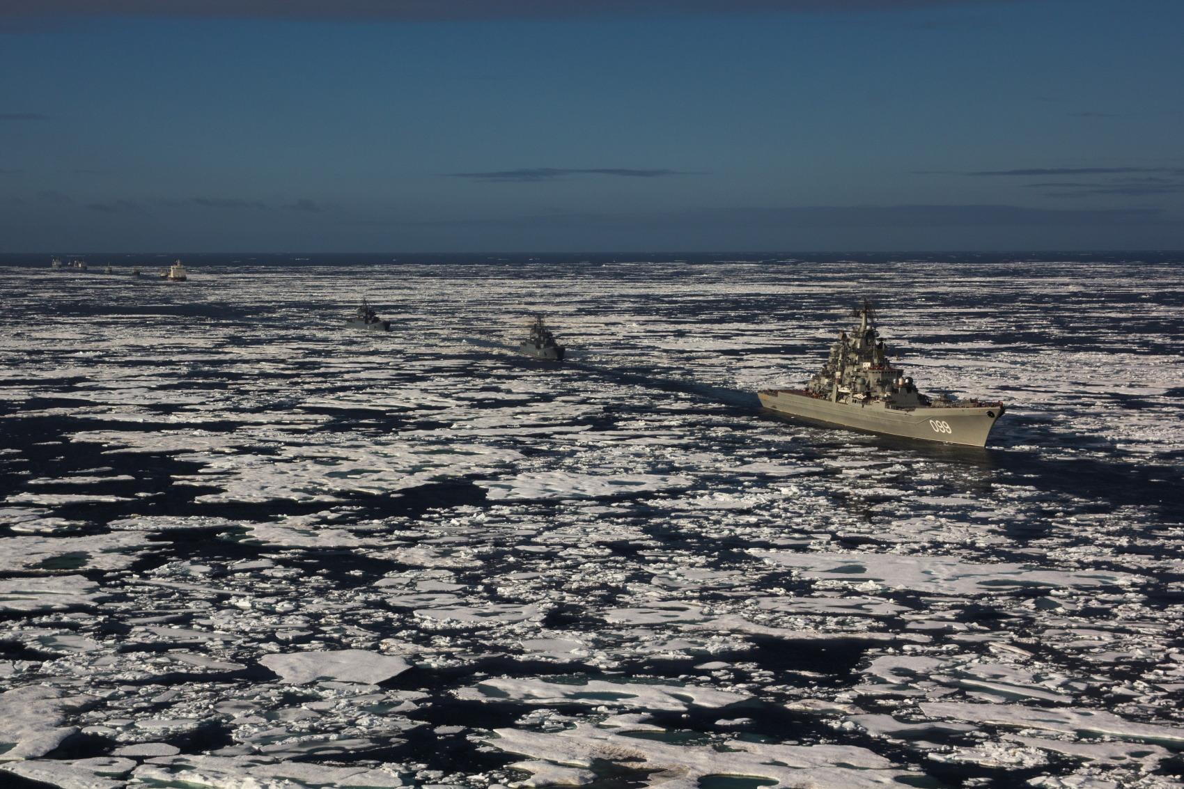 В Арктике создадут систему по обнаружению вражеских кораблей и подводных лодок
