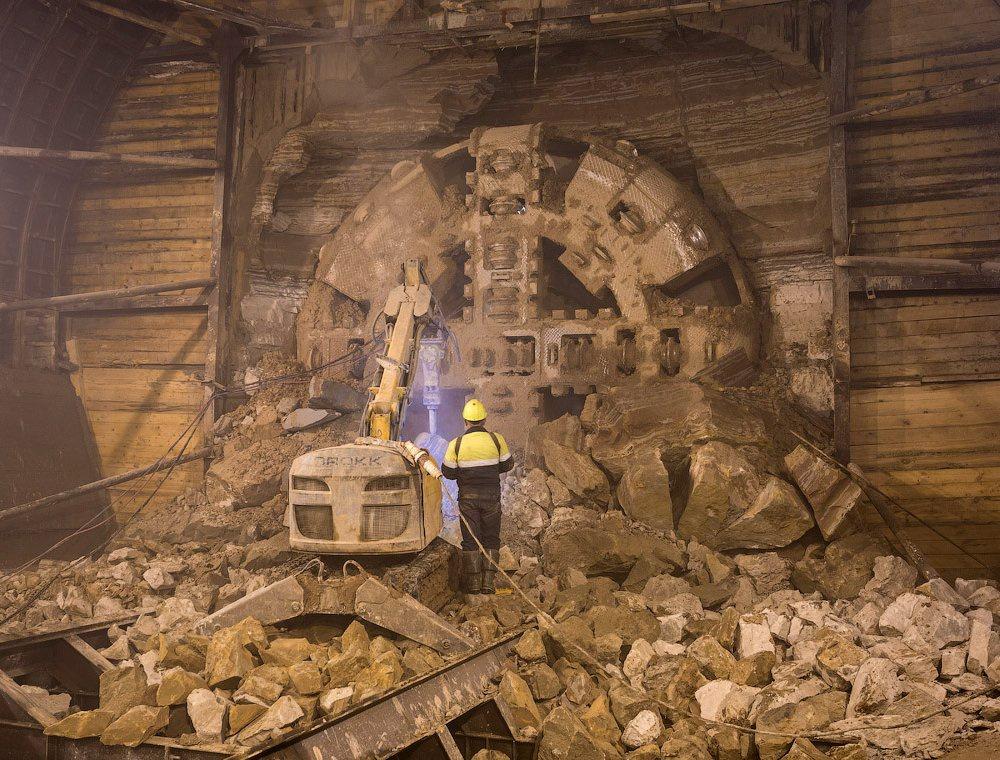 В Москве завершена проходка тоннеля длиной 1630 метров между станциями «Петровский парк» и «Нижняя Масловка» строящегося Третьего пересадочного контура
