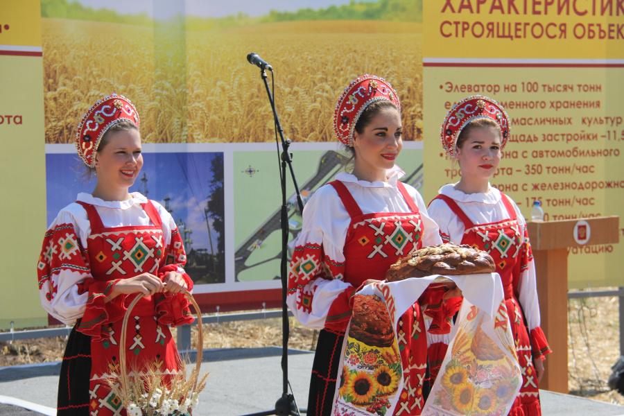В Орловской области дан старт проекту строительства элеватора на 100 тысяч тонн
