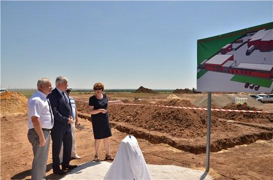 В Ростовской области заложили первый камень в основание нового мясоперерабатывающего комплекса «Восток»