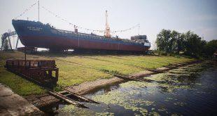 В Самаре спущен на воду танкер «Святой Князь Владимир»