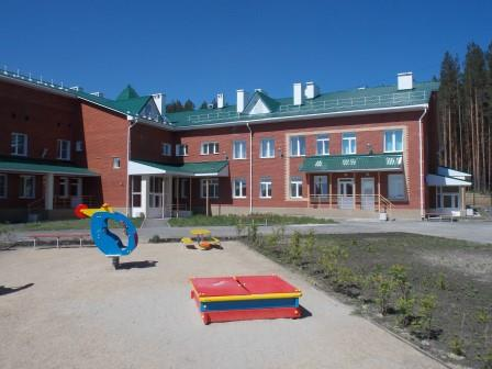 В Свердловской области в г.Сысерть открылось новое здание детского сада на 270 мест