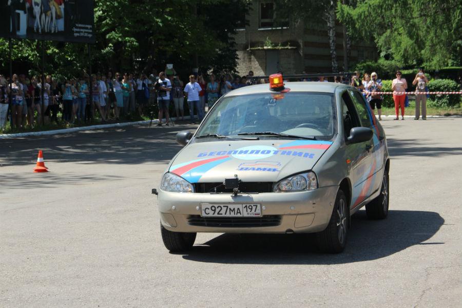 В Ульяновске провели испытания беспилотного автомобиля на базе Lada Kalina