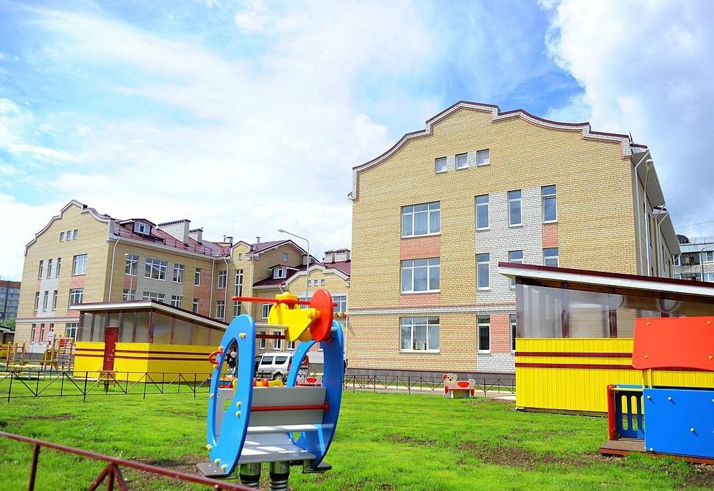 В Вологде открыли новый детский сад «Акварель»