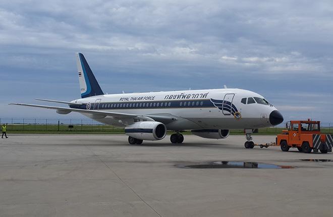 ВВС Таиланда получили два самолета Sukhoi Business Jet