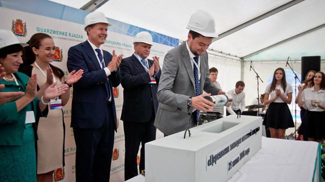 Во Владимерской области состоялась церемония закладки камня в строительство Великодворского перерабатывающего комбината