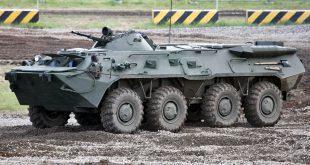 Военно-промышленная компания поставит за рубеж партию бронетранспортеров БТР-80 для миротворцев ООН