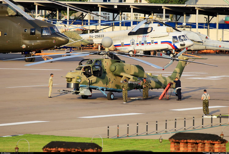 Засветилась новая модернизированная модификация ударного вертолёта Ми-28НМ