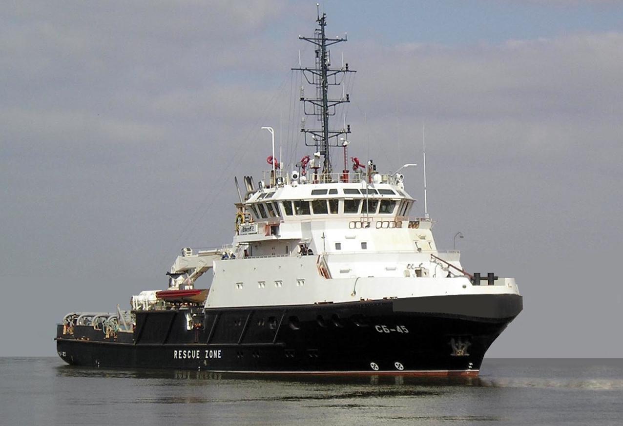 Новое спасательное буксирное судно СБ-738 успешно прошло государственные испытания