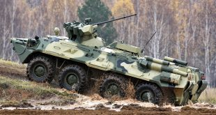 20 новых БТР-82А получило Новосибирское военное училище