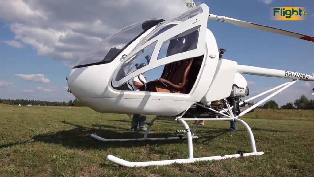 В Перми начались испытания нового малого вертолёта «Орлан»
