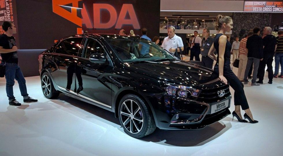 Была представлена самая роскошная версия Lada Vesta