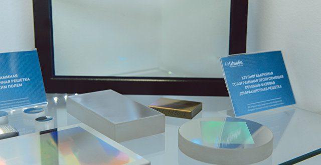 Холдинг «Швабе» поставил в Германию 100 голограммных дифракционных решеток
