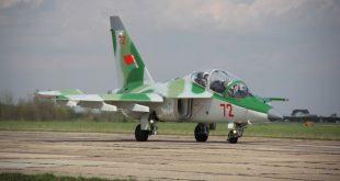 Иркутский авиационный завод завершил изготовление всех четырех учебно-боевых самолетов Як-130 Белоруссии