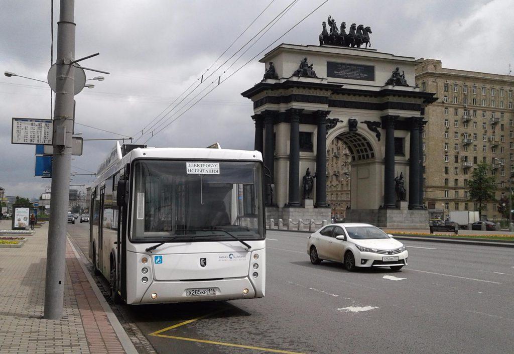 «Мосгортранс» взял на тестирование электробус КАМАЗ