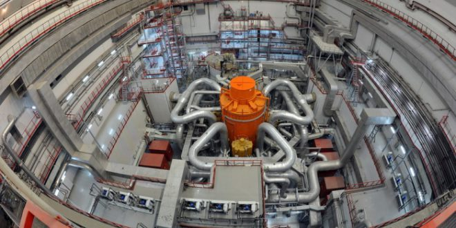 На Белоярской АЭС вывели на полную мощность новый реактор на быстрых нейтронах