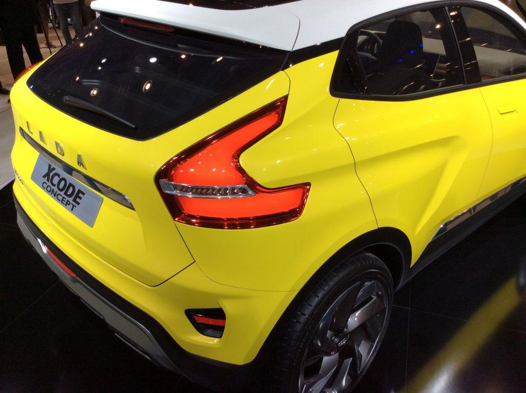 На Московском международном автомобильном салоне АВТОВАЗ впервые предствавил свой новый концепт — LADA XCODE