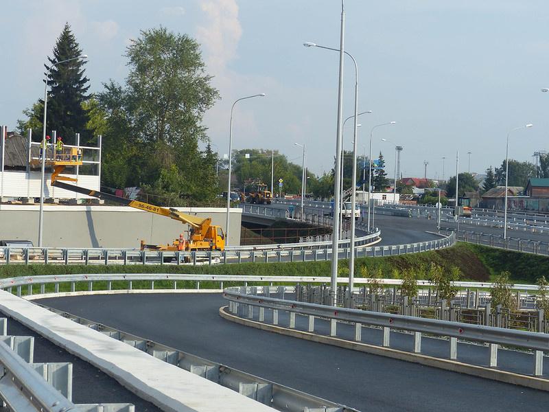 Новая автомагистраль построена в Тюмени