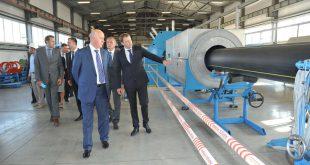 Новое производство полиэтиленовых труб открыто в Самарской области