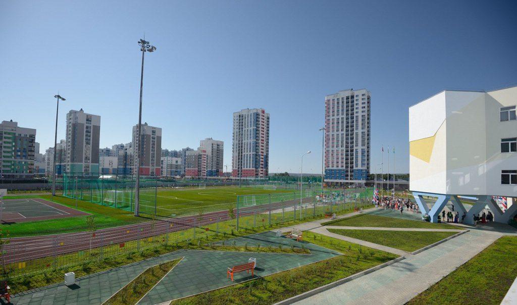 Новую школу открыли в Екатеринбурге