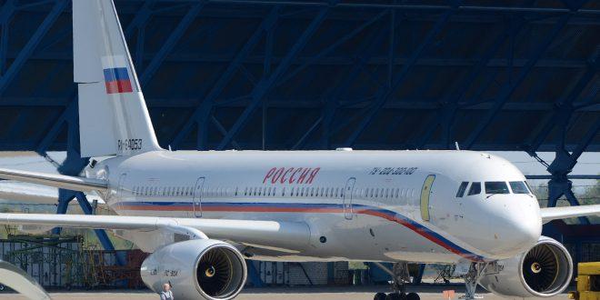 Новый Ту-204 совершил свой первый полёт